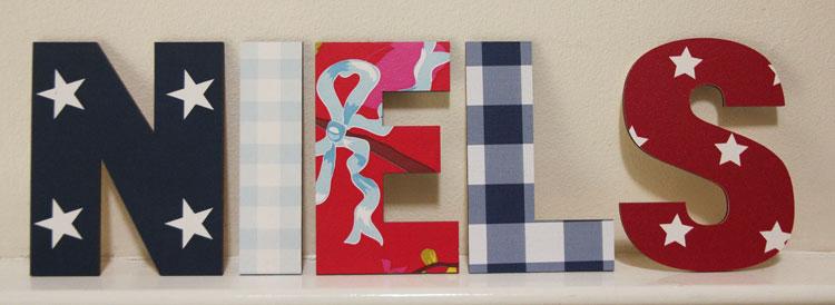 Letters Voor Op De Muur Kinderkamer.Naamletters