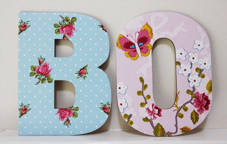 Houten Letters Kinderkamer : Inspiratie houten letters meisjes